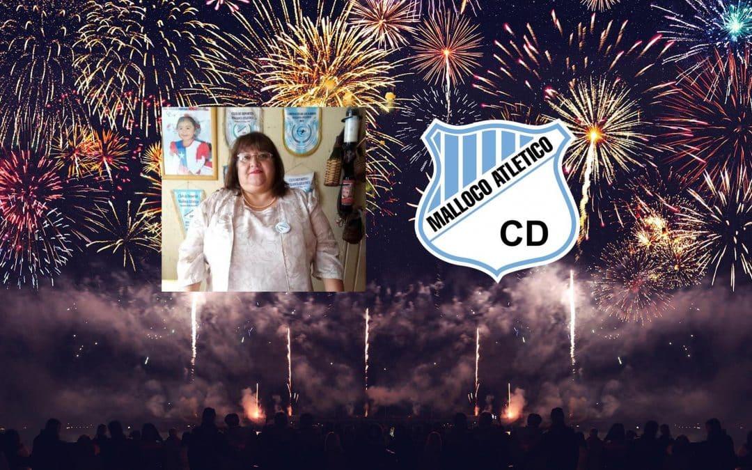 Feliz Año Nuevo, nos saluda Myriam Pérez, nuestra presidenta
