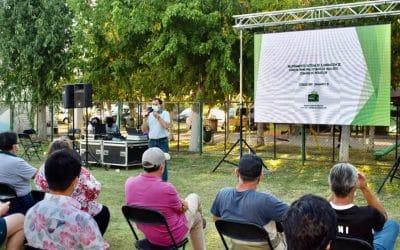 Alcalde de Peñaflor Nibaldo Meza anuncia avances concretos en Proyecto de Iluminación del Estadio de Malloco