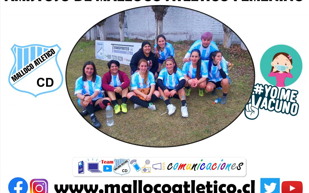 Equipo femenino de Malloco Atlético se reactiva con partido amistoso