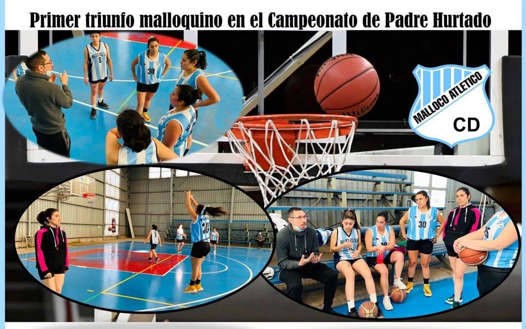 Primer Triunfo Malloquino en el Campeonato de Básquetbol Padre Hurtado