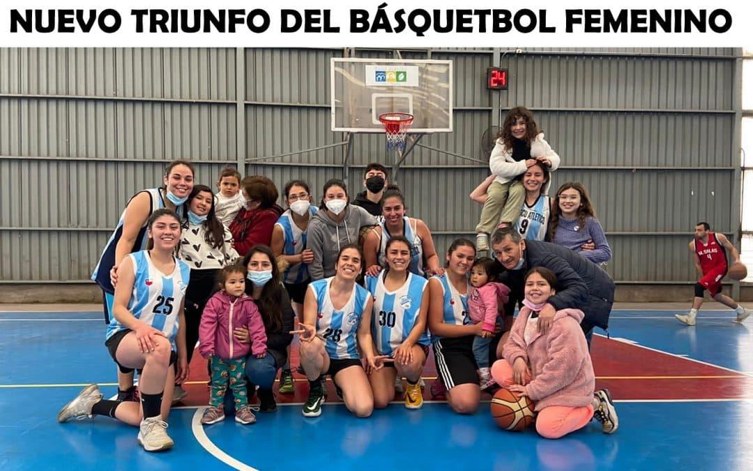 Nuevo triunfo del básquetbol femenino en Padre Hurtado
