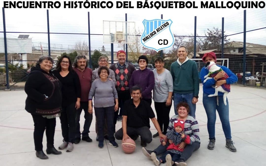 Gran encuentro de integrantes históricos de la Rama de Básquetbol de Malloco Atlético